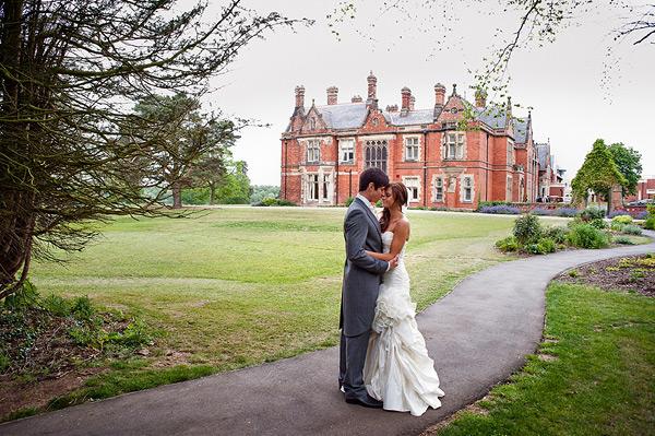 Rockliffe Hall Wedding Photography bride and groom