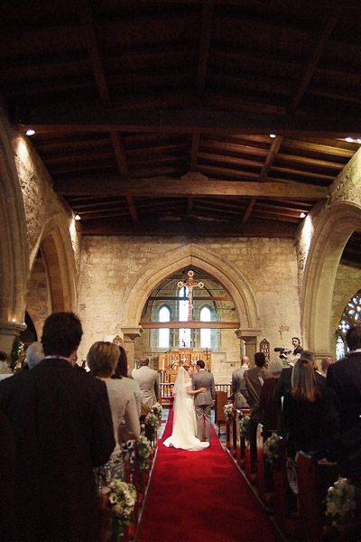 wedding ceremony felton church