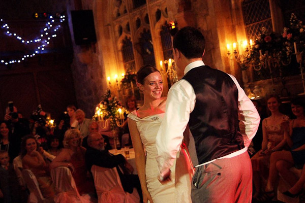 first dance at ellingham hall wedding