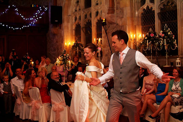 first dance at ellingham hall wedding
