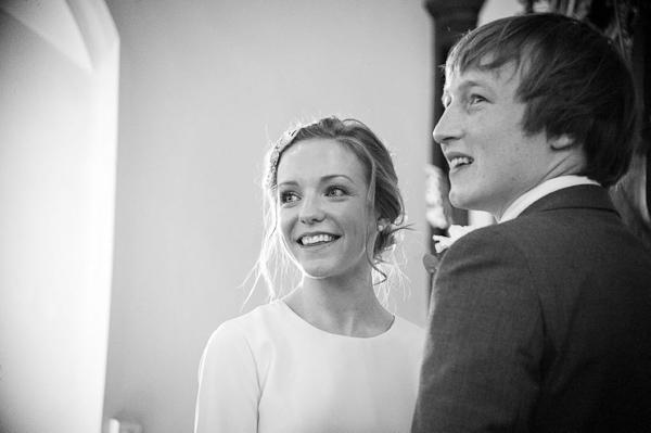 wedding ceremony our lady st oswins church tynemouth