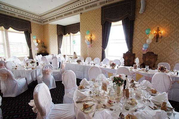 grand hotel tynemouth wedding breakfast room