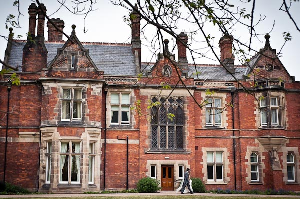 rockliffe hall wedding photographer bride and groom