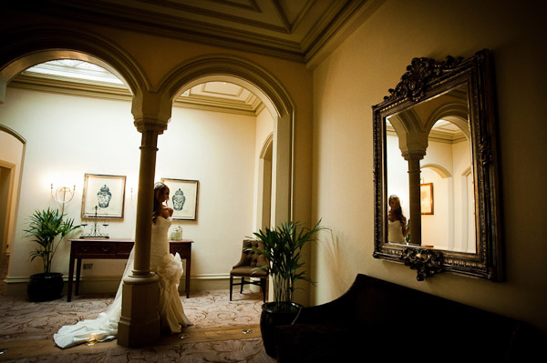 bride rockliffe hall wedding photographer