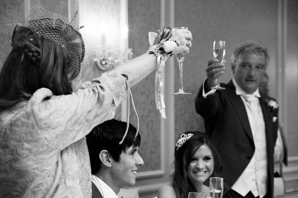 wedding toast rockliffe hall