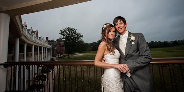 rockliffe hall bride and groom