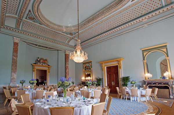 wedding breakfast at wynyard hall