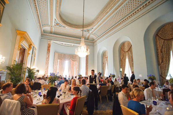 wynyard hall wedding breakfast reception