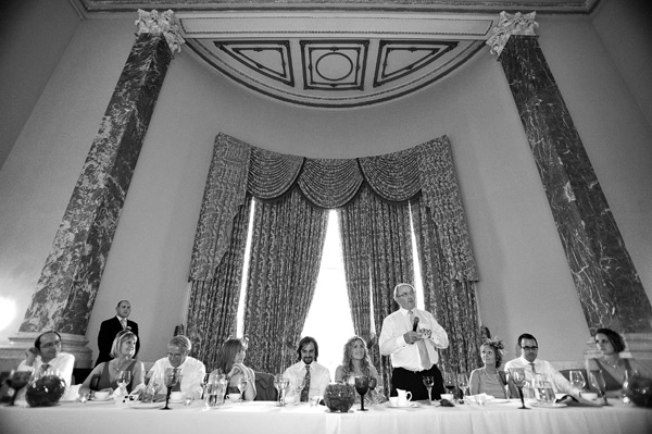 Wynyard hall wedding photographer wedding speeches