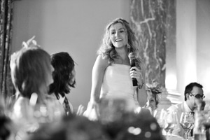 wynyard hall wedding speeches bride