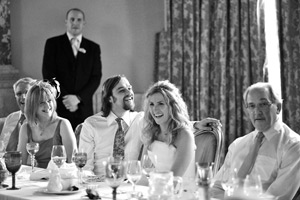wedding speeches laughing
