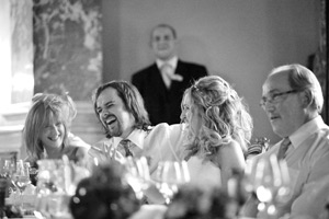 wynyard hall wedding speeches laughing