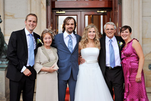 wynyard hall wedding photographer family photo