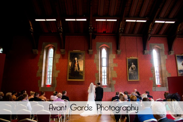Alnwick castle wedding ceremony