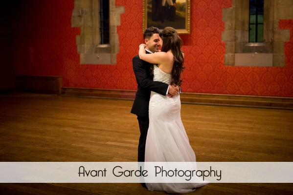 first dance at alnwick castle wedding